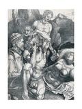The Desperate Man, 1513-1517 Giclee Print by Albrecht Dürer