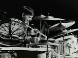 Drummer Louie Bellson Playing at the Forum Theatre, Hatfield, Hertfordshire, 1979 Photographic Print by Denis Williams