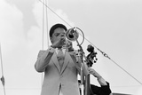 Wynton Marsalis, Knebworth, 1982 Reproduction photographique par Brian O'Connor