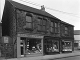 Shops in Bank Street, Mexborough, South Yorkshire, 1963 Photographic Print by Michael Walters