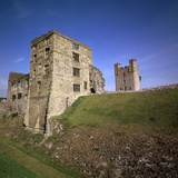 Helmsley Castle in Yorkshire, 12th Century Photographic Print by CM Dixon