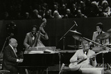 The Count Basie Orchestra in Concert at the Royal Festival Hall, London, 18 July 1980 Fotoprint van Denis Williams