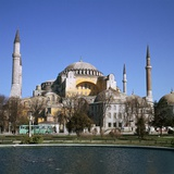 St Sophia in Istanbul Photographic Print by CM Dixon