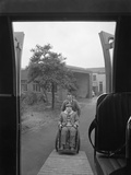 Paraplegic Bus, Pontefract, West Yorkshire, 1960 Photographic Print by Michael Walters