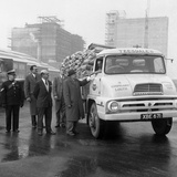 Lorry in Front of the New Spillers Animal Food Mill, Gainsborough, Lincolnshire, 1960 Photographic Print by Michael Walters