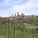 The Town of San Gimignano, 13th Century Photographic Print by CM Dixon