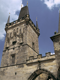 Charles Bridge Tower, Prague, Czech Republic Photographic Print by Peter Thompson