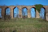 Roman Aqueduct, 4th Century Bc Photographic Print by CM Dixon