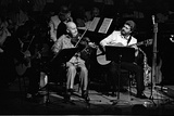 Stephane Grappelli, Barbican, London, 1987 Photographic Print by Brian O'Connor