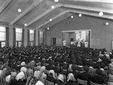 Catholic School Mass, South Yorkshire, 1967 Photographic Print by Michael Walters