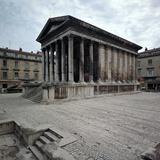 Maison Carree Roman Temple, 1st Century Bc Photographic Print by CM Dixon