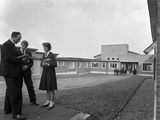Pope Pius X School, Wath-Upon-Dearne, Rotherham, 1959 Photographic Print by Michael Walters