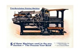 Two-Revolution Printing Machine, C1908 Giclee Print by  Burton-Rake