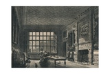 The Elizabethan Room, Coombe Abbey, Warwickshire, 1915 Giclee Print by JG Jackson
