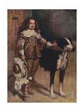 Court Dwarf Don Antonio El Ingles, (1640-1645), 1903 Giclée-Druck von Diego Velasquez