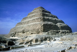 Step Pyramid of King Djoser (Zozer), Saqqara, Egypt, 3rd Dynasty, C2600 Bc Photographic Print by  Imhotep