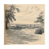Greenwich Palace from Observatory Hill, 1902 Giclee Print by Thomas Robert Way