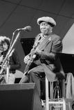 Muddy Waters, American Blues Musician, Capital Jazz, 1979 Fotoprint van Brian O'Connor