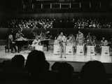 The Count Basie Orchestra Performing at the Royal Festival Hall, London, 18 July 1980 Photographic Print by Denis Williams