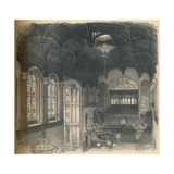 Interior of Crosby Hall, 1902 Giclee Print by Thomas Robert Way