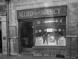 Heinz Promotion in the Allied Travel Agency Window, Mexborough, South Yorkshire, 1960 Photographic Print by Michael Walters