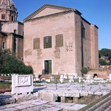 Curia of Diocletian, 1st Century Bc Photographic Print by CM Dixon
