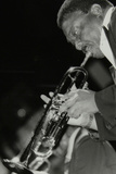 Trumpeter Cat Anderson Performing at the Newport Jazz Festival, Ayresome Park, Middlesbrough, 1978 Photographic Print by Denis Williams