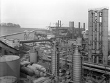 Carr House Gas Works, Rotherham, South Yorkshire, 1957 Photographic Print by Michael Walters