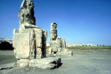 The Colossi of Memnon, Luxor West Bank, Egypt, C1400 Bc Photographic Print by CM Dixon