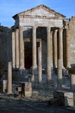 Capitoline Temple in the Forum of Sufetula, C.1st Century Stampa fotografica di CM Dixon