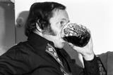 Johnny Dankworth, Ronnie Scotts, Soho, London, 1973 Fotografisk tryk af Brian O'Connor