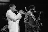 Wynton Marsalis (T Williams), Capital Jazz Festival, Rfh, London, 1988 Papier Photo par Brian O'Connor