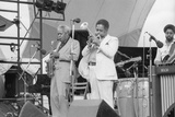 Sonny Stitt and Dizzy Gillespie, Capital Jazz, 1979 Photographic Print by Brian O'Connor