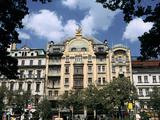 Grand Hotel, Wenceslas Square, Prague, Czech Republic Photographic Print by Peter Thompson