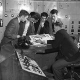 Students Visiting Mexborough Power Station, South Yorkshire, 1960 Photographic Print by Michael Walters