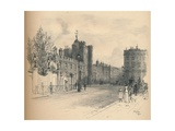 General View of St. Jamess Palace, from Pall Mall, 1902 Giclee Print by Thomas Robert Way
