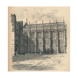 The Great Hall of Hampton Court Palace, 1902 Giclee Print by Thomas Robert Way