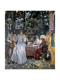 Lunch at Vasouy, 1901 Giclee Print by Edouard Vuillard