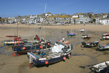 St Ives Harbour at Low Tide, Cornwall Photographic Print by Peter Thompson