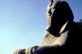 Alabaster Sphinx, Memphis, Egypt, 18th or 19th Dynasty, C14th-13th Century Bc Photographic Print by CM Dixon