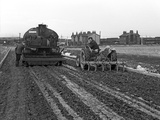 Road Construction Work, Doncaster, South Yorkshire, November 1955 Photographic Print by Michael Walters