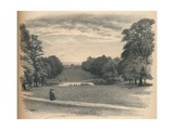The Vista, Kensington Palace, 1902 Reproduction procédé giclée par Thomas Robert Way