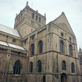 Southwell Minster in Nottinghamshire. 12th Century Photographic Print by CM Dixon