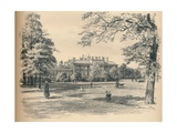 South Front of Kensington Palace, 1902 Giclee Print by Thomas Robert Way