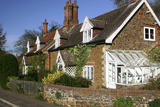 Cottages in the Village of Castle Rising, Kings Lynn, Norfolk, 2005 Photographic Print by Peter Thompson