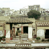 The House of the Stags, Herculaneum, Italy Photographic Print by CM Dixon