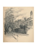 The Courtyard and Gateway of Richmond Palace, 1902 Giclee Print by Thomas Robert Way
