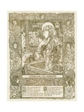 Design for a Christmas Carol, C1898 Giclee Print by James Allan Duncan