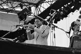 Wynton Marsalis, Knebworth, 1982 Photographic Print by Brian O'Connor
