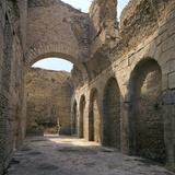 Roman Baths in Bulla Regia, 1st Century Bc Photographic Print by CM Dixon